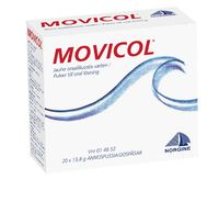 MOVICOL jauhe oraaliliuosta varten, annospussi 20 kpl