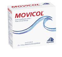 MOVICOL jauhe oraaliliuosta varten, annospussi 50 kpl