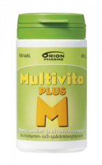 MULTIVITA PLUS MONIVITAMIINI 100 TABL
