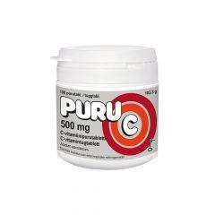 Puru-C 500 mg 100 tabl