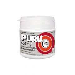 PURU-C 500 mg X100 TABL