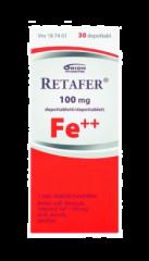 RETAFER 100 mg depottabl 30 fol