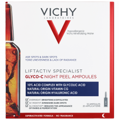 Vichy Liftactive CS Glyco-C Night Peel ampullit 2x10 kpl