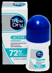 TRIPLE DRY WOMEN ACTIVE ROLL-ON 72H ANTIPERSP. TUOKSU 50 ML