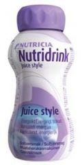 NUTRIDRINK JUICE STYLE MUSTAHERUKKA X4x200 ML