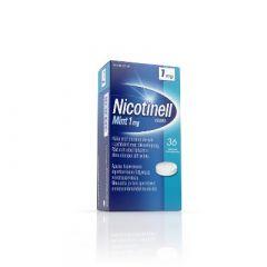 NICOTINELL MINT 1 mg imeskelytabl 36 fol